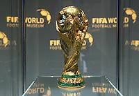 28-02-2016 Zurigo  Football FIFA; The FIFA World Cup trophy is displayed in the new FIFA museum<br /> (Steffen Schmidt/freshfocus/Insidefoto)