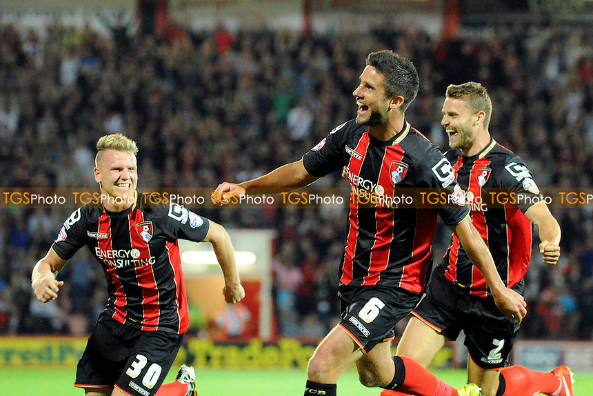 - AFC Bournemouth vs Leeds United - Sky Bet Championship Football at the Goldsands Stadium, Kings Park, Boscombe, Bournemouth, Dorset - 16/09/14 - MANDATORY CREDIT: Denis Murphy/TGSPHOTO - Self billing applies where appropriate - contact@tgsphoto.co.uk - NO UNPAID USE