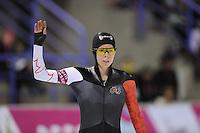 SCHAATSEN: CALGARY: Olympic Oval, 08-11-2013, Essent ISU World Cup, 500m, Christine Nesbitt (CAN), ©foto Martin de Jong