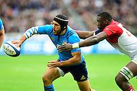 Edoardo Gori ( Italie ) - Yacouba Camara ( France )  <br /> Parigi Saint Denis 06-02-2016 Rugby Trofeo 6 Nazioni 2016 Francia Italia Foto Pestellini/Panoramic/Insidefoto