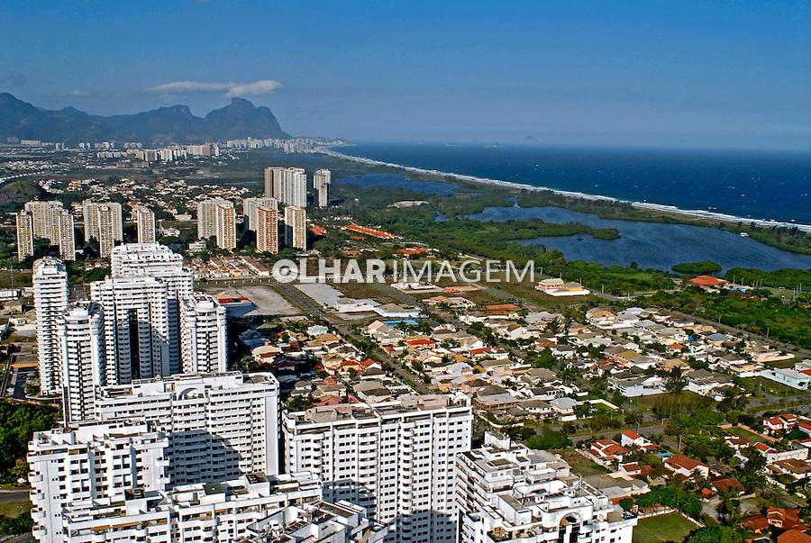 Vista aérea da Barra. Rio de Janeiro. 2007. Foto de Ricardo Azoury.