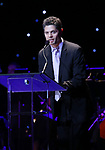 Tom Kitt on stage at the Dramatists Guild Foundation 2018 dgf: gala at the Manhattan Center Ballroom on November 12, 2018 in New York City.