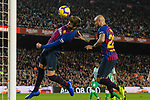 Gerard Pique Bernabeu of FC Barcelona in action during the La Liga 2018-19 match between FC Barcelona and Real Betis at Camp Nou, on November 11 2018 in Barcelona, Spain. Photo by Vicens Gimenez / Power Sport Images