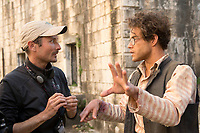 Papillon (2017)<br /> Michael Noer (Director), Rami Malek<br /> *Filmstill - Editorial Use Only*<br /> CAP/FB<br /> Image supplied by Capital Pictures
