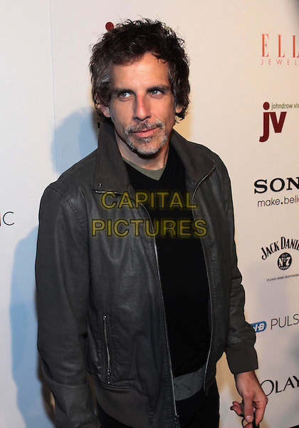 "BEN STILLER .Haven360, Creative Coalition And Roadside Attractions Celebrate ""The Cove""  held at Andaz Hotel, West Hollywood, California, USA..March 3rd, 2010.half length black top grey gray suit jacket goatee facial hair .CAP/ADM/TC.©T. Conrad/AdMedia/Capital Pictures."