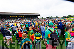 Kerry players after the Football All-Ireland Senior Championship Quarter-Final Group 2 Phase 3 match between Kerry and Meath at Páirc Tailteann, Navan on Saturday.