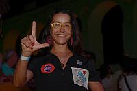 RIO DE JANEIRO, RJ, 28.07.2018 - LULA-LIVRE - Lucélia Santos durante Festival Lula Livre na Lapa, centro do Rio de Janeiro neste sábado, 28. (Foto: Clever Felix/Brazil Photo Press)