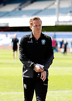 11th July 2020; The Kiyan Prince Foundation Stadium, London, England; English Championship Football, Queen Park Rangers versus Sheffield Wednesday; Garry Monk of Sheffield Wednesday walking back into the away tunnel at half time