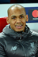 Liverpool's Fabinho looks on<br /> <br /> Photographer Richard Martin-Roberts/CameraSport<br /> <br /> UEFA Champions League Group C - Liverpool v Napoli - Tuesday 11th December 2018 - Anfield - Liverpool<br />  <br /> World Copyright © 2018 CameraSport. All rights reserved. 43 Linden Ave. Countesthorpe. Leicester. England. LE8 5PG - Tel: +44 (0) 116 277 4147 - admin@camerasport.com - www.camerasport.com