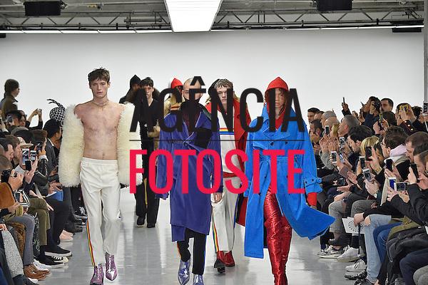 Xander Zhou<br /> <br /> Londres Masculino - Inverno 2016<br /> <br /> <br /> foto: FOTOSITE