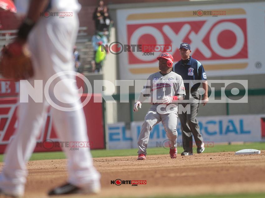 Miguel Tejada (Dominicano) durante  la Serie del Caribe 2013  de Beisbol,  Puerto Rico  vs Republica Dominicana ,  en el estadio Sonora el 2 de febrero de 2013...© (foto:BaldemarDeLosLlanos/NortePhoto)........during the 2013 Caribbean Series Baseball, Puerto Rico vs Dominican Republic in Sonora Stadium on February 2, 2013 ...© (photo: Baldemar of Llanos / NortePhoto)...http://mlb.mlb.com/mlb/events/winterleagues/league.jsp?league=cse