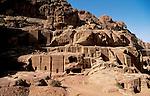 Jordan, Petra. Nabatean tombs&amp;#xA;<br />