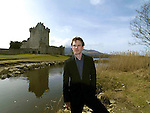 Hollywood movie star Michael Fassbender pictured at Ross Castle, Killarney in 2009.<br /> Picture by Don MacMonagle
