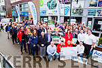 The Cartell.ie Rally of the Lakes was launched in Scotts Hotel on Monday by Paul Nagle Craig Breen Anthony O'Connor