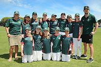 Raroa Intermediate School after the National Primary School Cricket Cup at the Bert Sutcliffe Oval, Lincoln University, Christchurch, New Zealand. Saturday 25 November 2017. Photo: Martin Hunter/www.bwmedia.co.nz