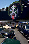 Randy Newman billboard, Sunset Strip, 1979