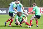 British & Irish Lions training session.Adam Jones taking part in the Lions training session in Wales..Vale Resort.15.05.13.©Steve Pope