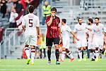 Stockholm 2014-07-31 Fotboll Europa League IF Brommapojkarna - Torino FC :  <br /> Brommapojkarnas Gabriel Petrovic deppar efter 0-1 till Torino p&aring; straff<br /> (Foto: Kenta J&ouml;nsson) Nyckelord:  BP Brommapojkarna IFB Tele2 Arena Europa League Torino FC TFC Italien Itay depp besviken besvikelse sorg ledsen deppig nedst&auml;md uppgiven sad disappointment disappointed dejected