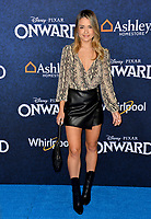 """LOS ANGELES, CA: 18, 2020: Valentina Genta at the world premiere of """"Onward"""" at the El Capitan Theatre.<br /> Picture: Paul Smith/Featureflash"""