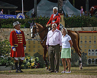 Flexible ridden by Rich Fellers in 3 way tie for first after USEF Trial #3,  USEF trials Wellington Florida. 3-22-2012