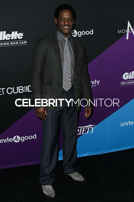 CULVER CITY, LOS ANGELES, CA, USA - FEBRUARY 27: Blair Underwood at the 1st Annual unite4:humanity Presented by unite4:good and Variety held at Sony Pictures Studios on February 27, 2014 in Culver City, Los Angeles, California, United States. (Photo by Xavier Collin/Celebrity Monitor)