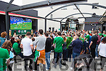 Irish fans watching Euro Championships ay Scotts Killarney