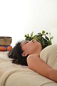 Stock photos of Asian Woman on Massage Table