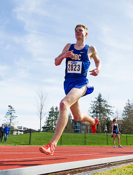 VANCOUVER,BC:APRIL 1, 2017 -- UBC Thunderbirds during the 2017 UBC Open Track and Field Meet at UBC in Vancouver, BC, April, 1, 2017. (Rich Lam/UBC Athletics Photo) <br /> <br /> ***MANDATORY CREDIT***