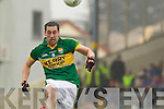 Anthony Maher, Kerry in action against   Tyrone in the fourth round of the National Football league at Fitzgerald Stadium, Killarney on Sunday.
