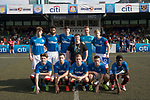 Glasgow Rangers (in blue) vs HKFC (in white), during their Main Tournament match, part of the HKFC Citi Soccer Sevens 2017 on 27 May 2017 at the Hong Kong Football Club, Hong Kong, China. Photo by Chris Wong / Power Sport Images