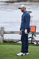 Jon Rahm (ESP) reacts to his tee shot on 7 during round 2 of the 2019 US Open, Pebble Beach Golf Links, Monterrey, California, USA. 6/14/2019.<br /> Picture: Golffile | Ken Murray<br /> <br /> All photo usage must carry mandatory copyright credit (© Golffile | Ken Murray)