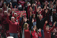 NWA Democrat-Gazette/J.T. WAMPLER Image from Arkansas 104-69 win over Oral Roberts Tuesday Dec. 19, 2017 at Bud Walton Arena In Fayetteville.