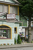 Downtown historic town of Skagway, Alaska