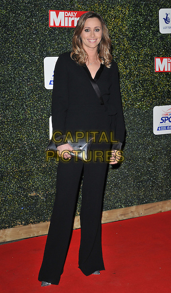 Anna Woolhouse attends the Daily Mirror Pride of Sport Awards 2015, Grosvenor House Hotel, Park Lane, London, England, UK, on Wednesday 25 November 2015. <br /> CAP/CAN<br /> &copy;Can Nguyen/Capital Pictures