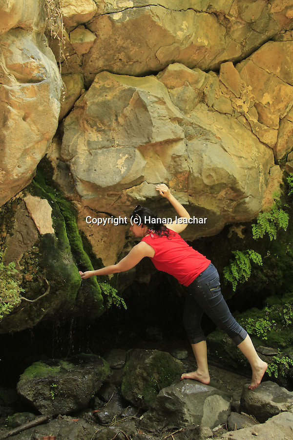 Ein Fik in the Golan Heights