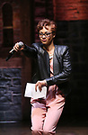 """Syndee Winters performing before The Rockefeller Foundation and The Gilder Lehrman Institute of American History sponsored High School student #EduHam matinee performance of """"Hamilton"""" at the Richard Rodgers Theatre on 3/15/2017 in New York City."""