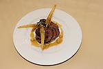 Lamb Rack with White Bean Sauce & Ravioli, Dux Restaurant, Orlando, Florida
