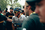 European Champion Matteo Trentin (ITA) Mitchelton-Scott wins Stage 17 of the 2019 Tour de France running 200km from Pont du Gard to Gap, France. 24th July 2019.<br /> Picture: ASO/Thomas Maheux | Cyclefile<br /> All photos usage must carry mandatory copyright credit (© Cyclefile | ASO/Thomas Maheux)