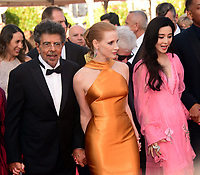www.acepixs.com<br /> <br /> May 23 2017, Cannes<br /> <br /> Gabriel Yared, Jessica Chastain and Fan Bingbing arriving at the 70th Anniversary of the annual Cannes Film Festival at Palais des Festivals on May 23, 2017 in Cannes, France.<br /> <br /> By Line: Famous/ACE Pictures<br /> <br /> <br /> ACE Pictures Inc<br /> Tel: 6467670430<br /> Email: info@acepixs.com<br /> www.acepixs.com
