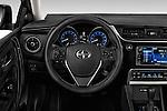 Car pictures of steering wheel view of a 2016 Scion iM 5 Door Hatchback Steering Wheel