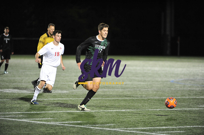 The Stevenson men's soccer team triumphed over Albright 3-2 on Tuesday night at Mustang Stadium in Owings Mills.