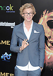 Cody Simpson attends the Lionsgate World Premiere of The hunger Games held at The Nokia Theater Live in Los Angeles, California on March 12,2012                                                                               © 2012 DVS / Hollywood Press Agency