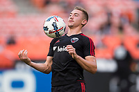 Washington, DC - August 12, 2017: D.C. United played Real Salt Lake during a Major League Soccer (MLS) match at RFK Stadium.