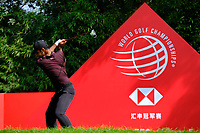Shubhankar Sharma (IND) during the 1st round at the WGC HSBC Champions 2018, Sheshan Golf CLub, Shanghai, China. 25/10/2018.<br /> Picture Phil Inglis / Golffile.ie<br /> <br /> All photo usage must carry mandatory copyright credit (&copy; Golffile | Phil Inglis)