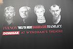 Donmar at Wyndham's theatre, Ivanov, Twelfth Night, Madame de Sade, Hamlet, poster, London, England