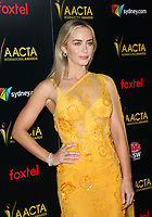 4 January 2019 - West Hollywood, California - Emily Blunt. the 8th AACTA International Awards held at Skybar at Mondrian.        <br /> CAP/ADM/FS<br /> ©FS/ADM/Capital Pictures