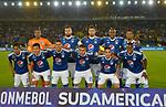 Millonarios venció 4-0 (5-1 en el global) a General Díaz. 16avos de final Conmebol Sudamericana 2018.