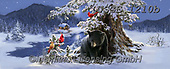 Dona Gelsinger, CHRISTMAS ANIMALS, WEIHNACHTEN TIERE, NAVIDAD ANIMALES, paintings+++++,USGE1210B,#xa#,bear