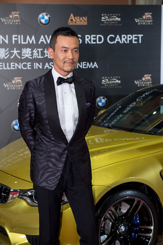 Best actor LIAO Fan winner arrives at the 9th Asian Film awards at the Venetian Macau.25.03.15. 25th March 2015.