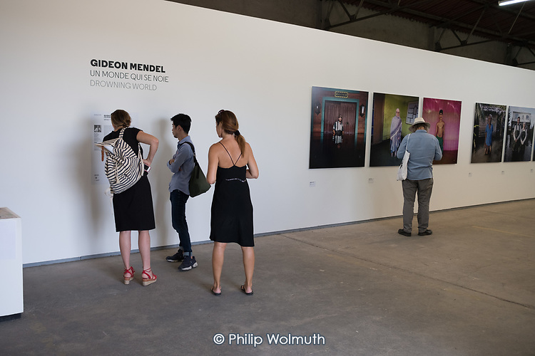 LES RENCONTRES D'ARLES: Gideon Mendel photography exhibition